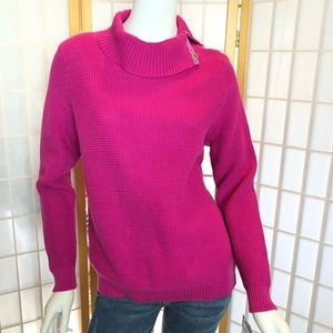 Gorgeous fuschia sweater
